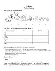 English Worksheets: unit 6