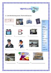 English Worksheets: Travelling; business travels