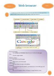 English Worksheets: Browser