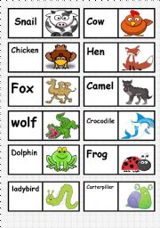ANIMAL´S DOMINO. FULLY EDITABLE AS YOU TEACH OR LIKE ( 3/3 )