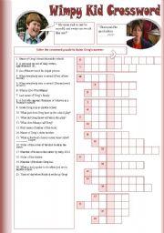 English worksheets: wimpy worksheets