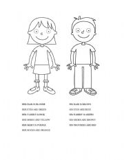 English Worksheets: body