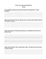 English Worksheets: Nelson Literacy grade 5