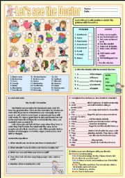 Let´s see the doctor (EDIT WORKSHEET)