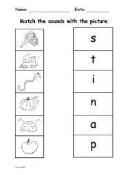 English Worksheets: Satipn