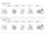 English Worksheets: word bank  countru mouse