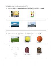 comparative worksheet