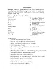 English Worksheets: Not Easily Broken movie guide