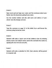 English Worksheets: social studies
