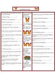 English Worksheets: taq questions