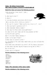 English teaching worksheets Detective