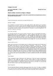English Worksheets: gramatical revisions