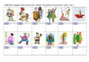English Worksheet: Nationality Stereotypes