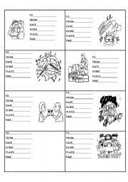 English Worksheets: 12