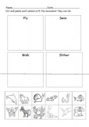 animal worksheet new 19 animal movement worksheets kindergarten. Black Bedroom Furniture Sets. Home Design Ideas