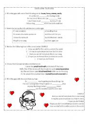 English Worksheet: Elton John - Your song