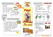 English Worksheet: Pippi Longstocking -Speaking activity ( guidelines + text )