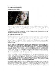 English Worksheets: SOCIAL NETWORKING