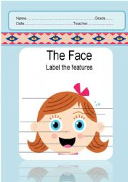 English Worksheets: The face & body parts