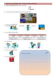 English Worksheets: Reading & Writing - PART 2