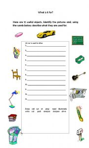 English Worksheets: what is it for?