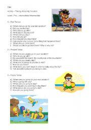 English Worksheets: Description