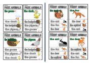 English Worksheets: animal quartet part 2