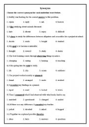 Worksheets Synonym And Antonym Worksheets english teaching worksheets synonyms and antonyms antonyms