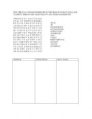 English Worksheets: greetings searchword