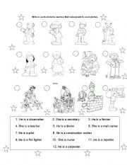 English Worksheets: community members