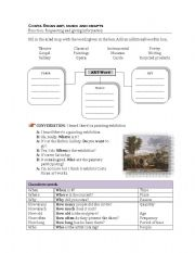 English Worksheets: Wh-questions about art and entertaiment