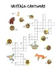 GRUFFALO Crossword