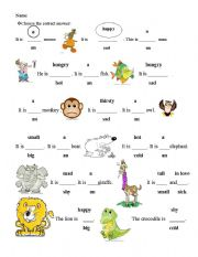 English Worksheet: homework for kids