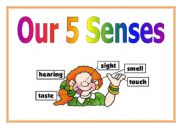 English Worksheets: 5 senses