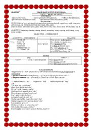 English Worksheet: SO-NEITHER-NOR-TOO-ENOUGH-TAG QUESTIONS