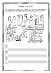 English Worksheets: How much is this?