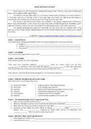 english worksheets radio days activity. Black Bedroom Furniture Sets. Home Design Ideas