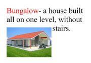 English Worksheet: types of houses 1