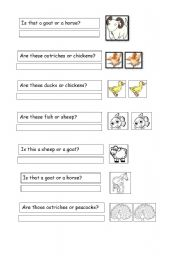 English worksheet: Question