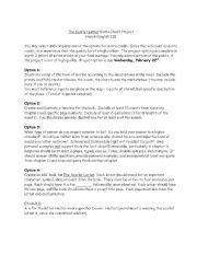 English Worksheets: Scarlet letter ex cred
