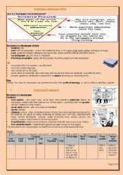 English Worksheet: Analysing newspapers 1