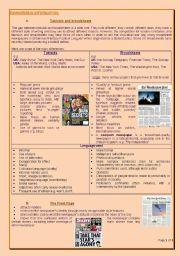 English Worksheet: Analysing newspapers 2