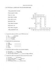 English Worksheets: english exercises