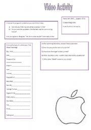 Steve Jobs worksheets