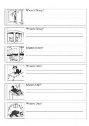 English Worksheets: where is it?