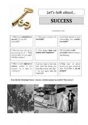 Let´s talk about SUCCESS - conversation cards