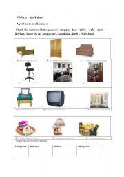 English Worksheets: work sheet
