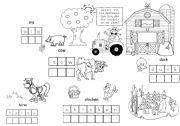 English Worksheets: Old McDonald�s farm
