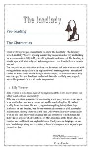 english teaching worksheets the landlady roald dahl english worksheets the landlady