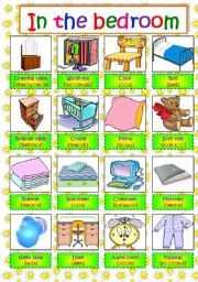 english teaching worksheets the bedroom